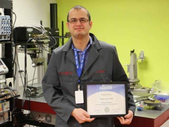 Riverside Research Staff Member Elevated to AIUM Fellow