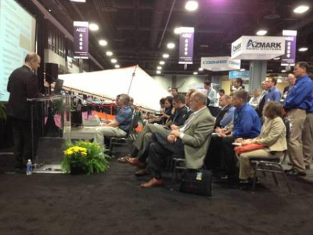 Beyond the Booth Showcase on Precision Agriculture Draws Crowd at AUVSI