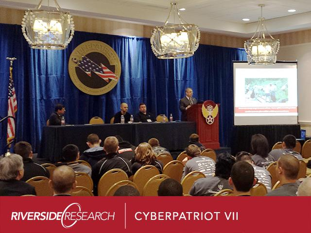 Riverside Research Sponsors CyberPatriot VII National Youth Cyber Defense Competition