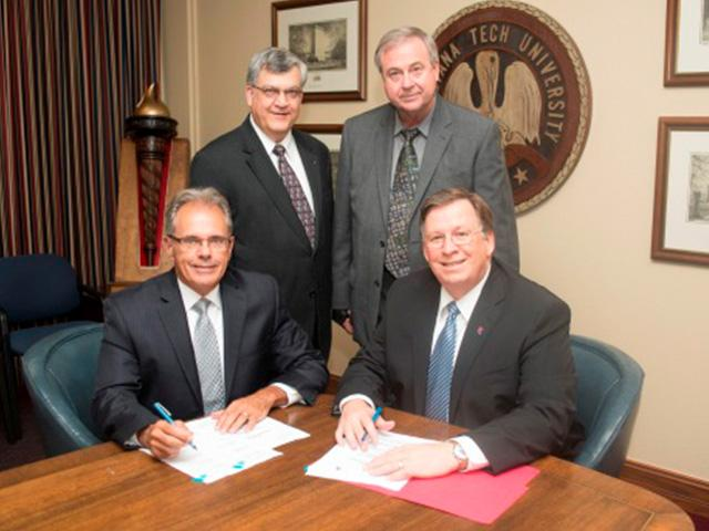 Louisiana Tech University and Riverside Research form strategic partnership to expand research and education opportunities - especially for Cybersecurity