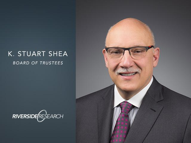 Riverside Research Proudly Welcomes Stu Shea to its Board of Trustees