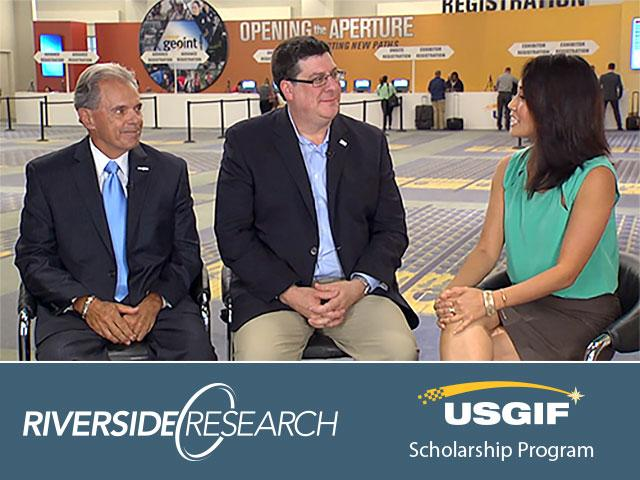President Richard Annas and USGIF CEO Keith Masback Talk Workforce Development at GEOINT 2015