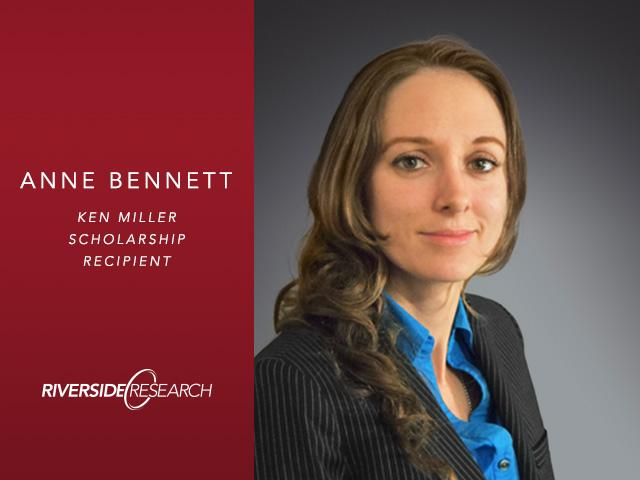 First Ken Miller Scholarship for Advanced Remote Sensing Awarded